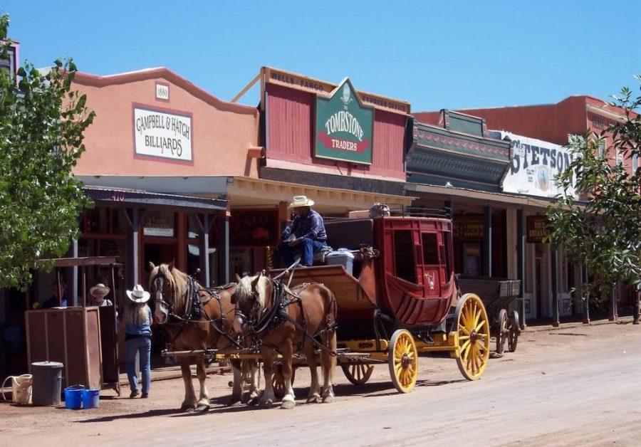 Город-музей Тумстоун в штате Аризона