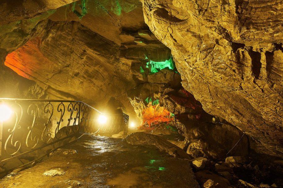 Сочинские Воронцовские пещеры