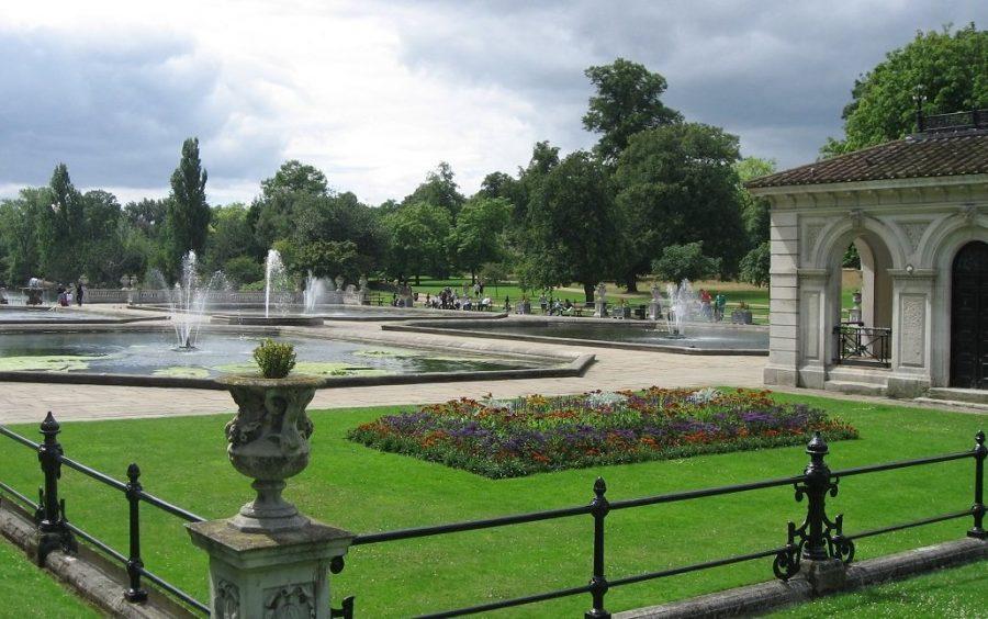 Красивый Гайд-парк в Лондоне