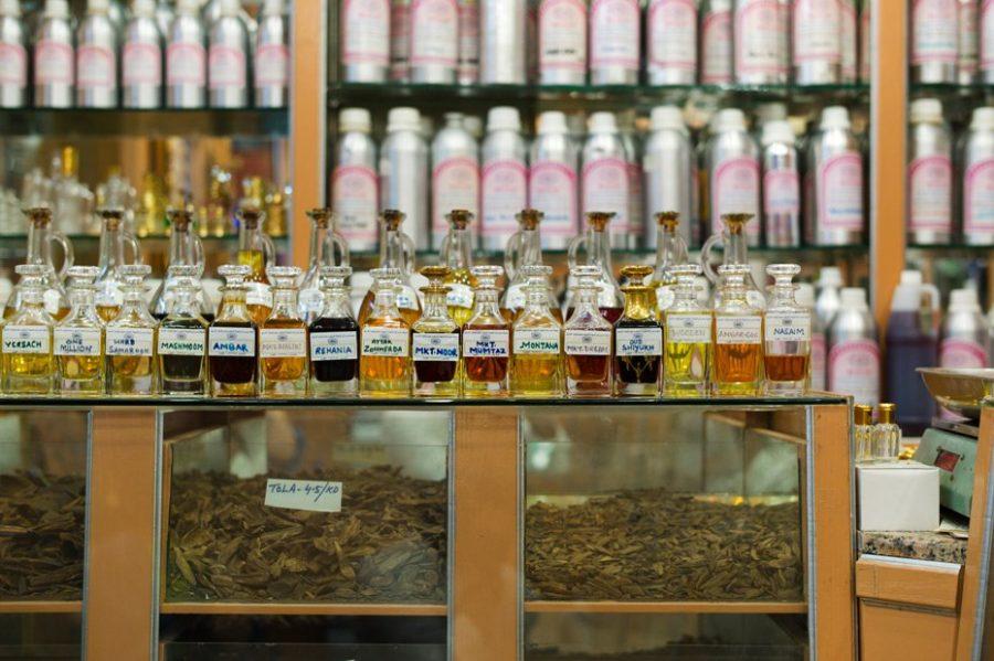 Район Дейра парфюмерный рынок