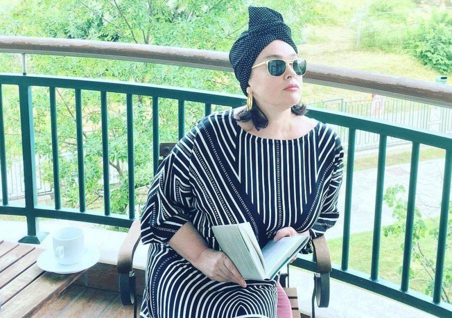 Лариса Гузеева на даче в Болгарии