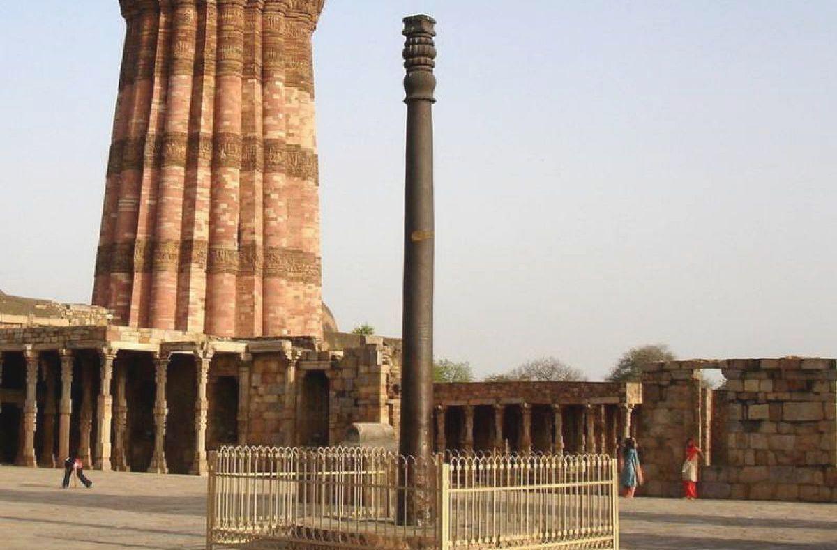 Нержавеющий столб в Индии