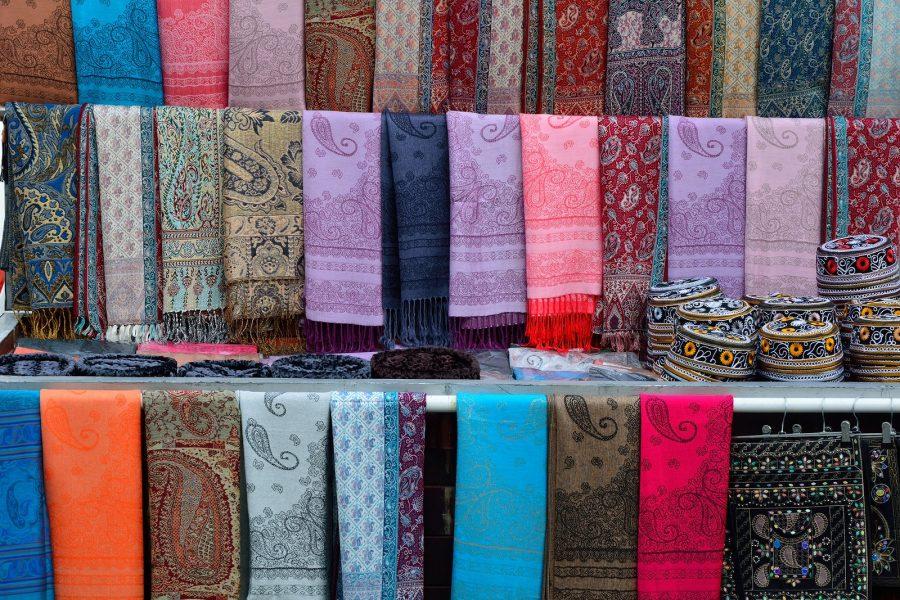 Натуральные шелковые платки в Баку