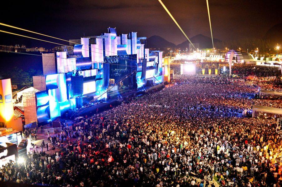 Фестиваль Rock In Rio, Бразилия