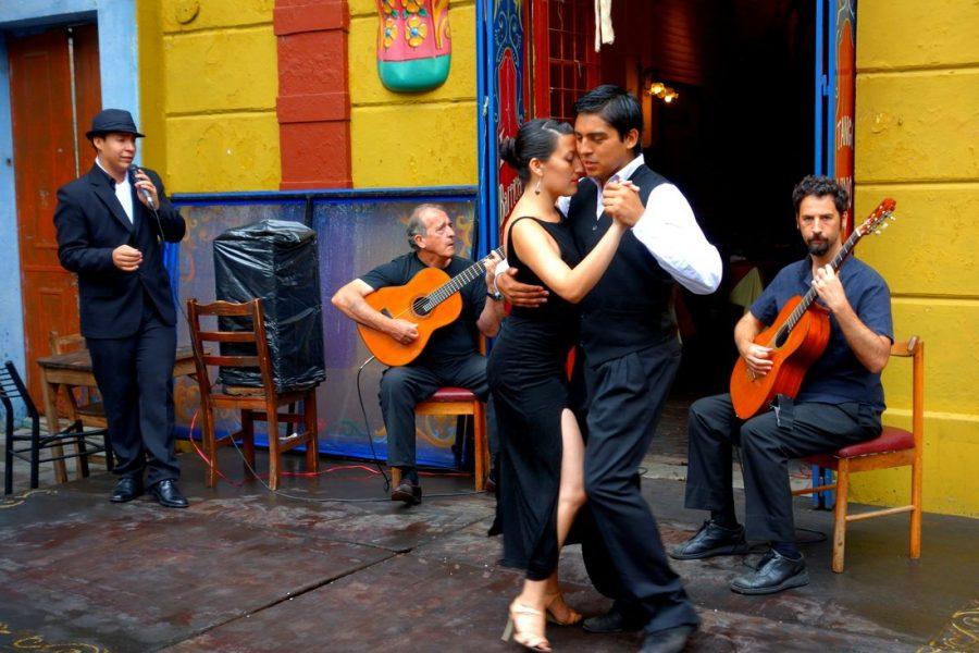 Буэнос-Айрес аргентинский танец танго