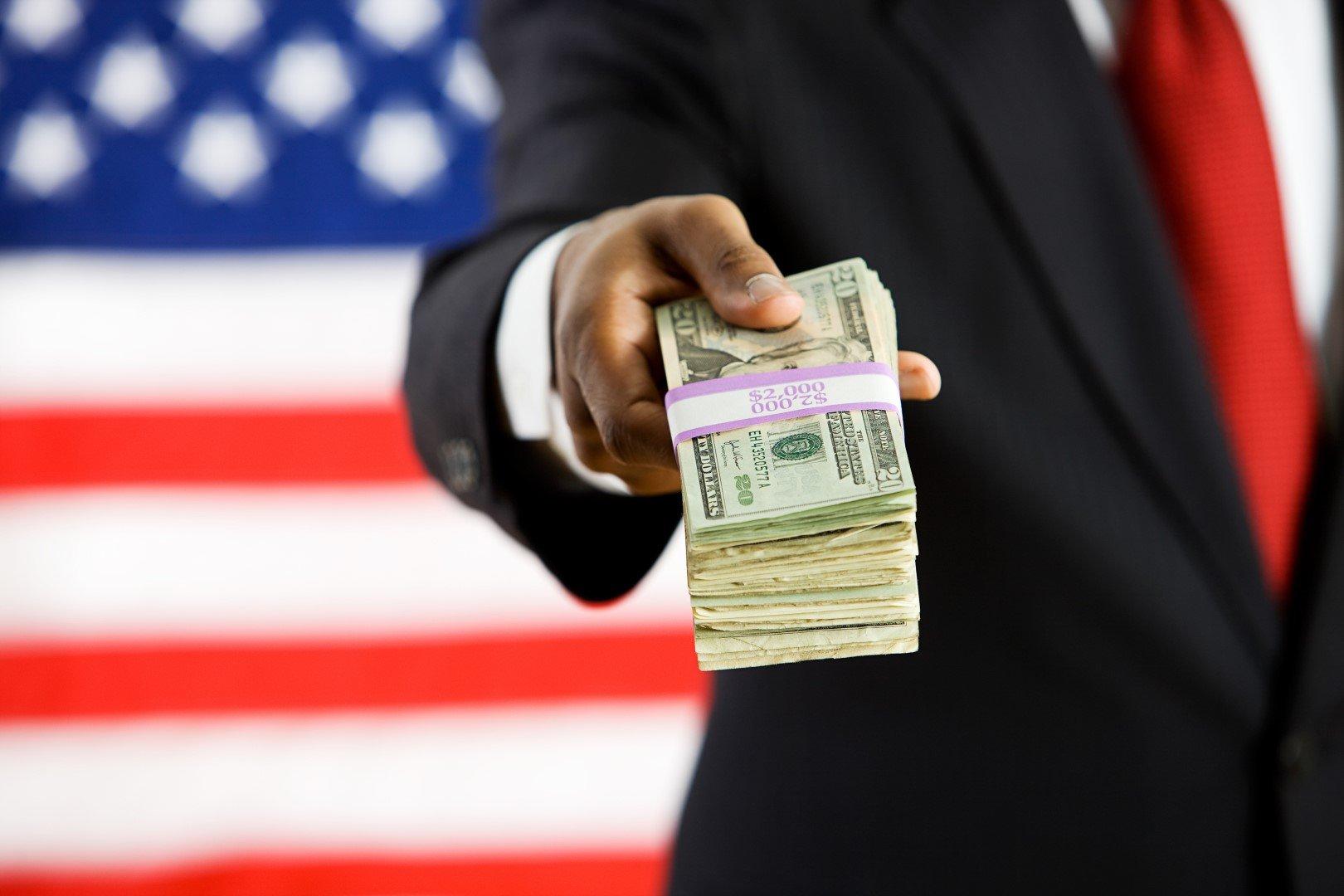 Брать кредит в Америке обычное дело