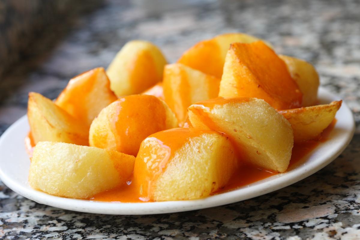 Картофель выращенный в Испании