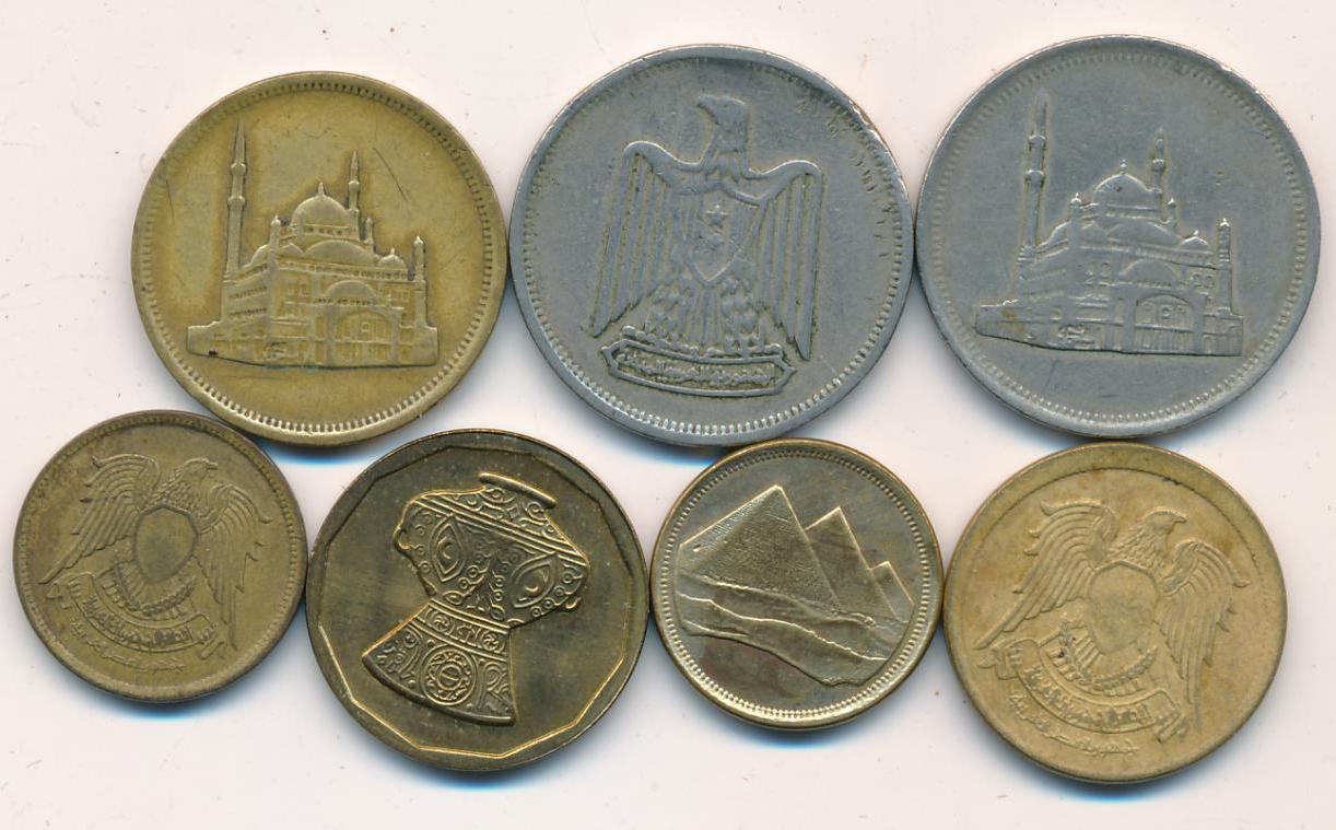 Старинные монеты Египта вывозить нельзя