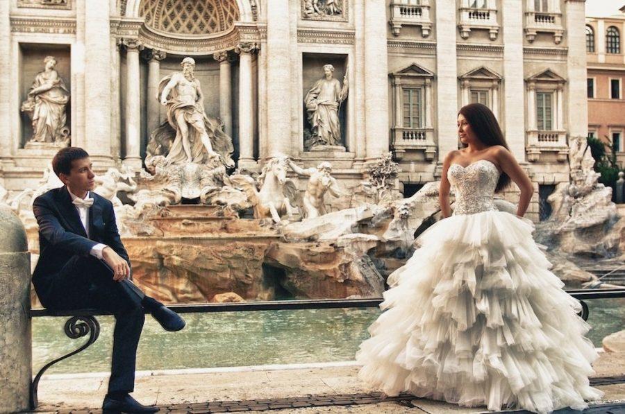 Невеста из России в Италии