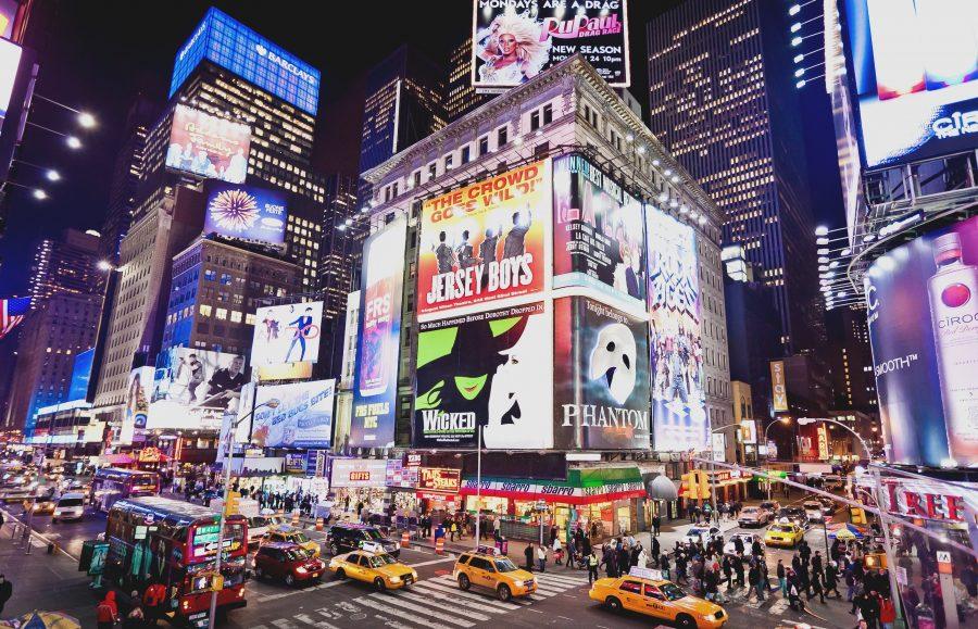 Бродвей, Нью-Йорк туристическое место