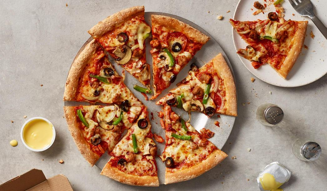 Papa John's Pizza популярный фастфуд