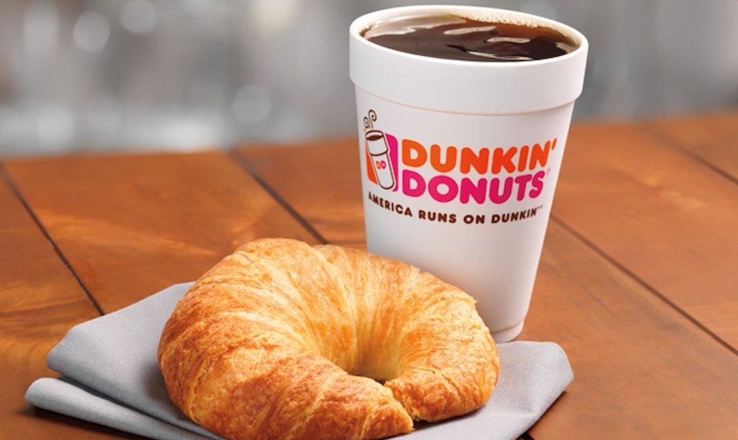 Dunkin 'Donuts популярный фастфуд