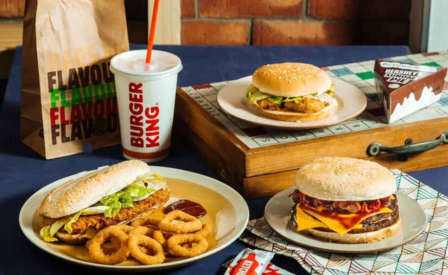 Burger King популярный фастфуд