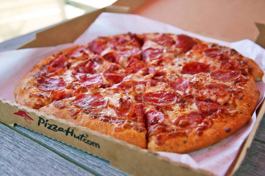 Pizza Hut популярный фастфуд
