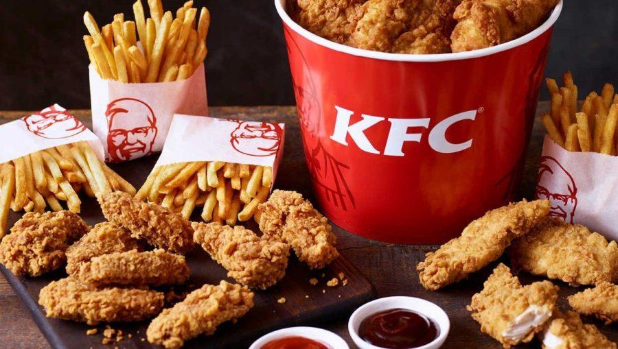 KFC популярная сеть фастфуда