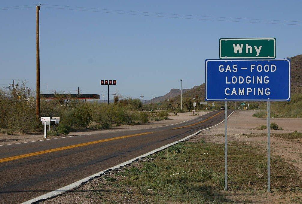 Why город в штате Аризона
