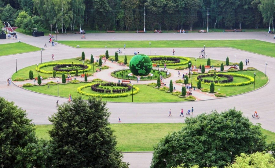 ЦПКиО имени П. П. Белоусова в Туле