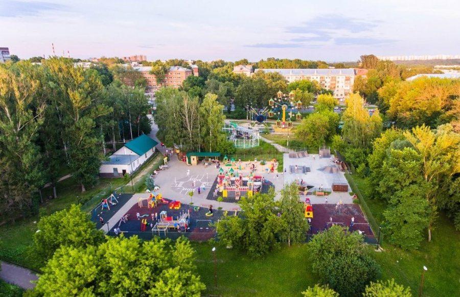 Центральный парк Нижнего Новгорода