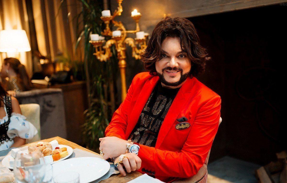 Филипп Киркоров в ресторане