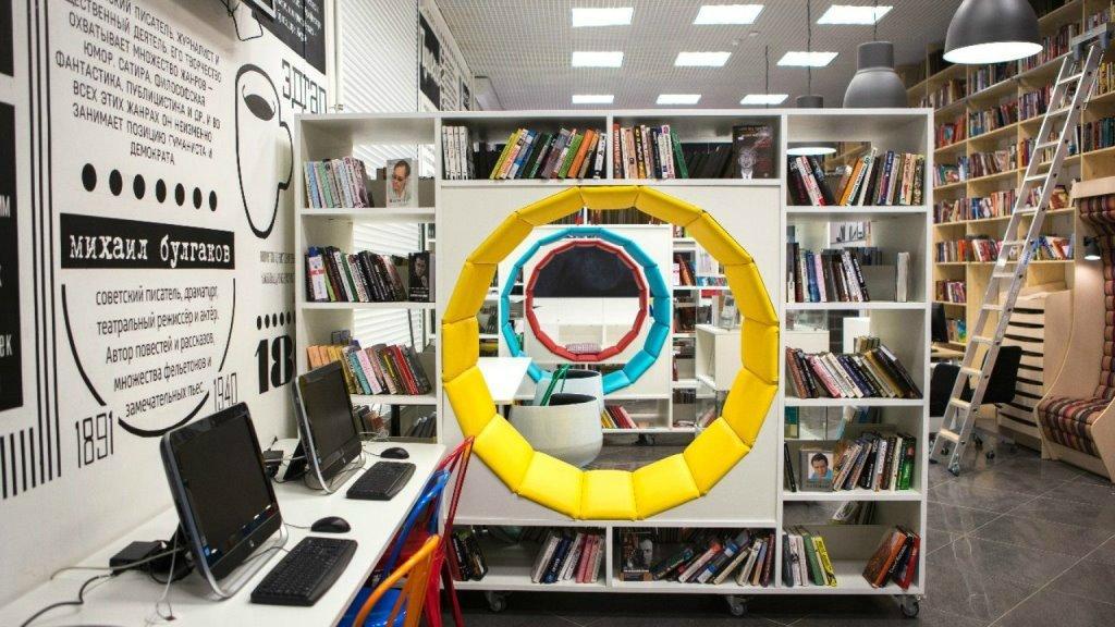Библиотека-коворкинг в Питере