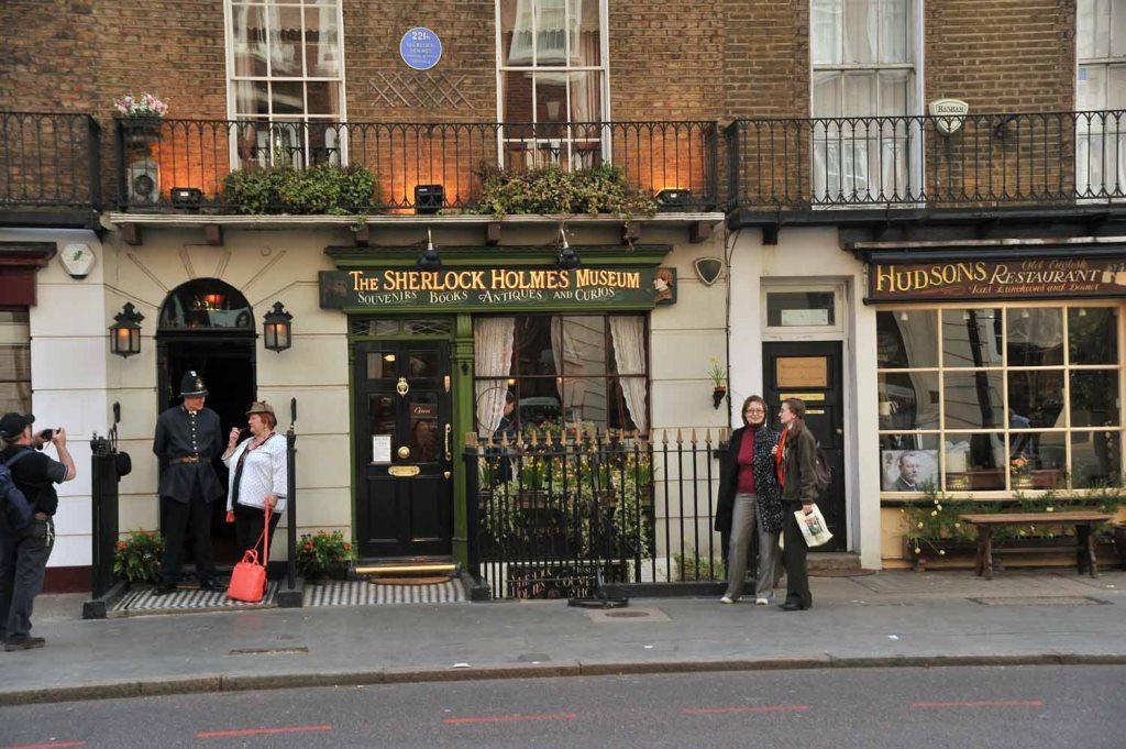 Бейкер-Стрит в Лондоне