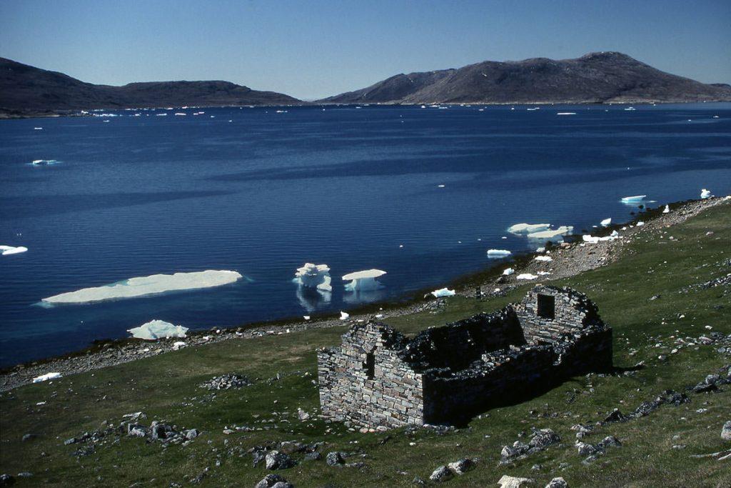 Следы викингов в Гренландии