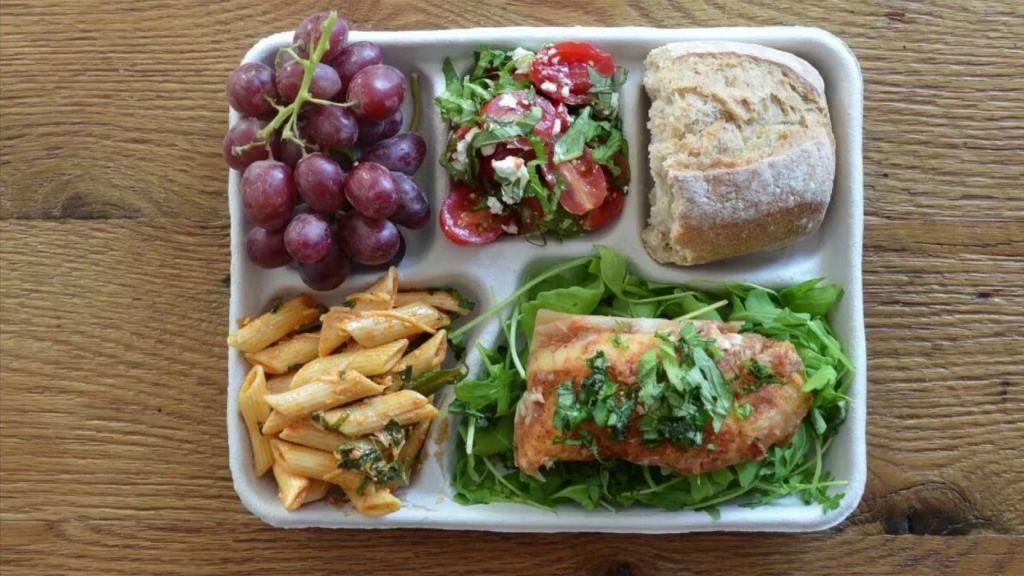 Итальянский обед в школе