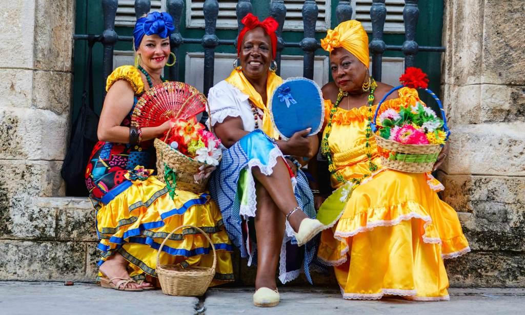 Жительницы Кубы