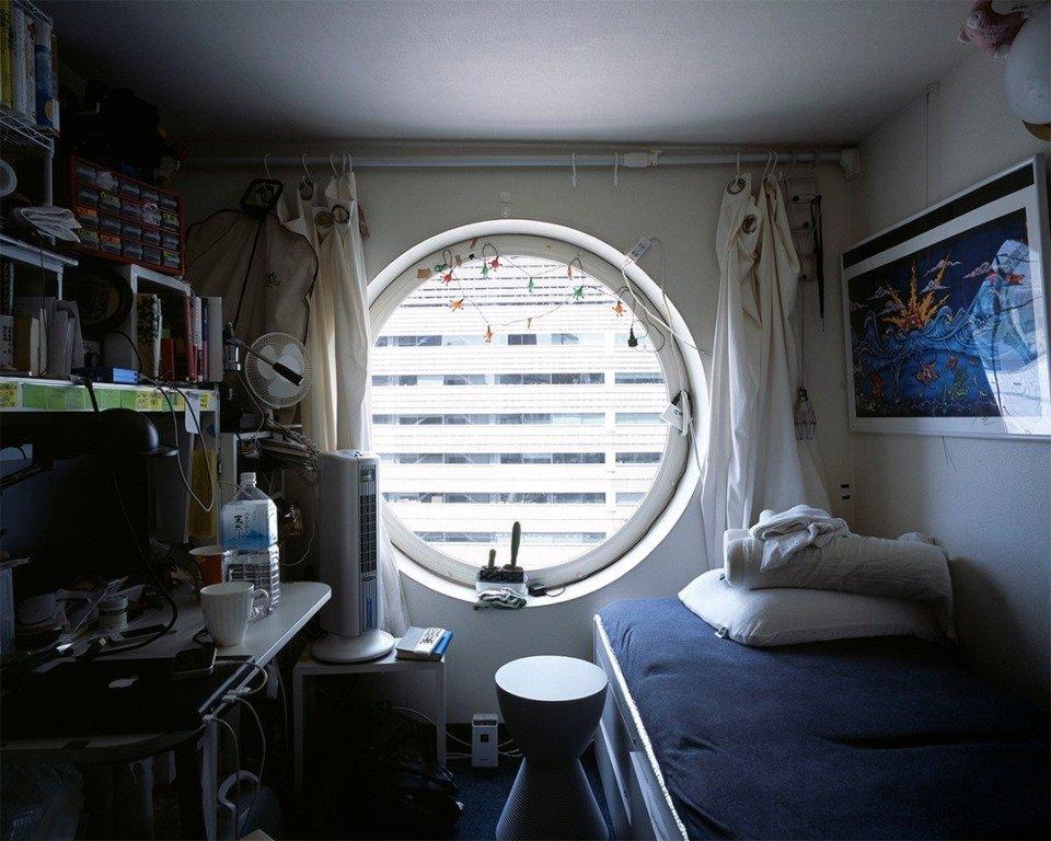 Японская квартира в 6 квадратных метров