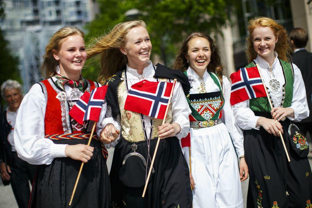 Девушки из Скандинавии