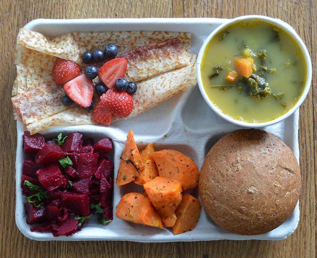 Финский обед в школе