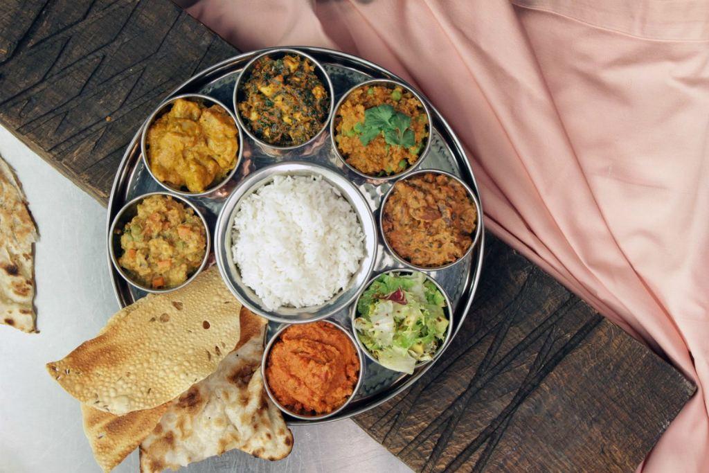Индийский обед в школе