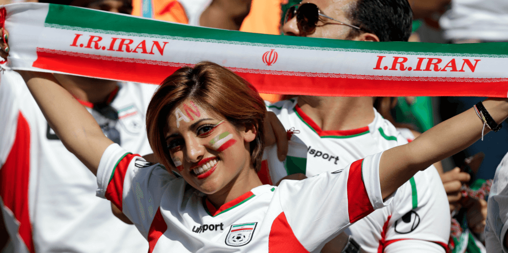 арабские болельщицы на футболе