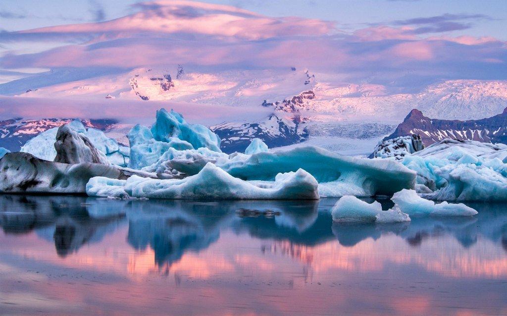 Лагуна айсбергов, Исландия