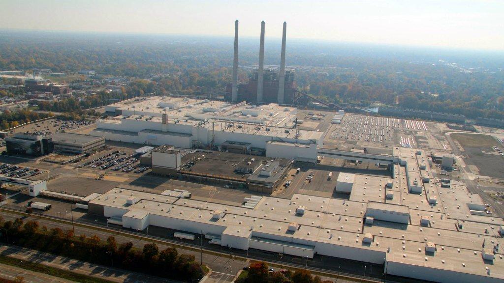 Лакокрасочный завод в Мичигане