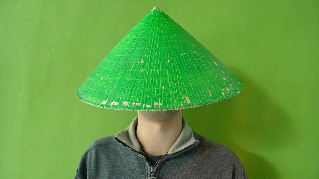 Китаец в зеленой шапке