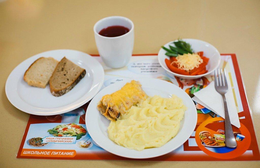 Российский обед в школе
