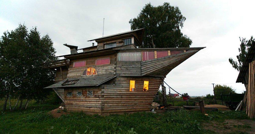 «Летучий корабль» в Кемерово, Россия