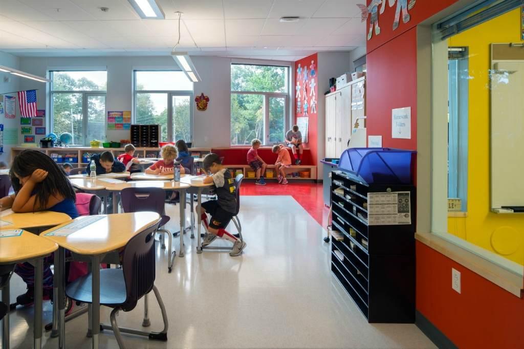 Американский школьный кабинет