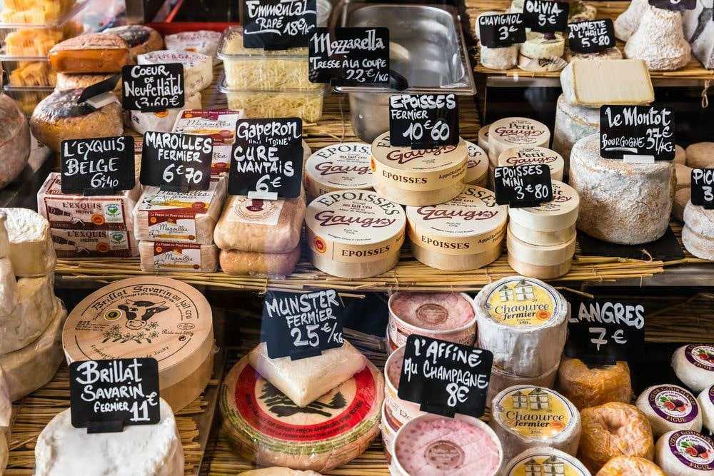 Цены в супермаркетах Франции