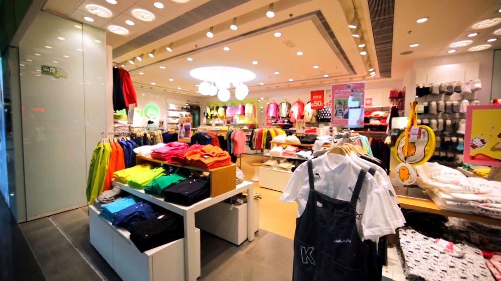 Пример магазина в Корее