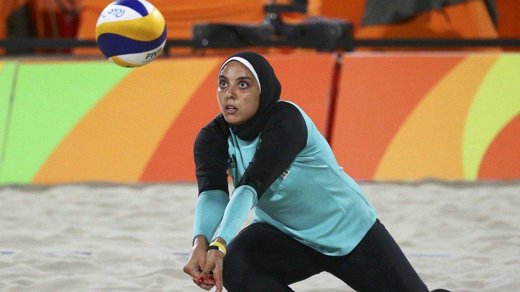 Арабские женщины в спорте