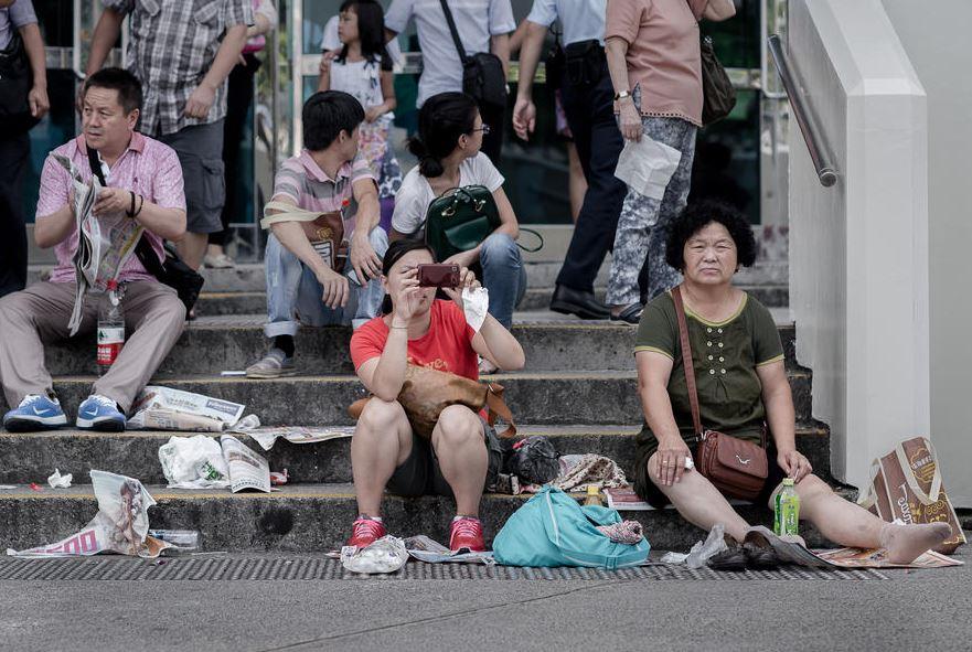 Поведение китайских туристов шокирует