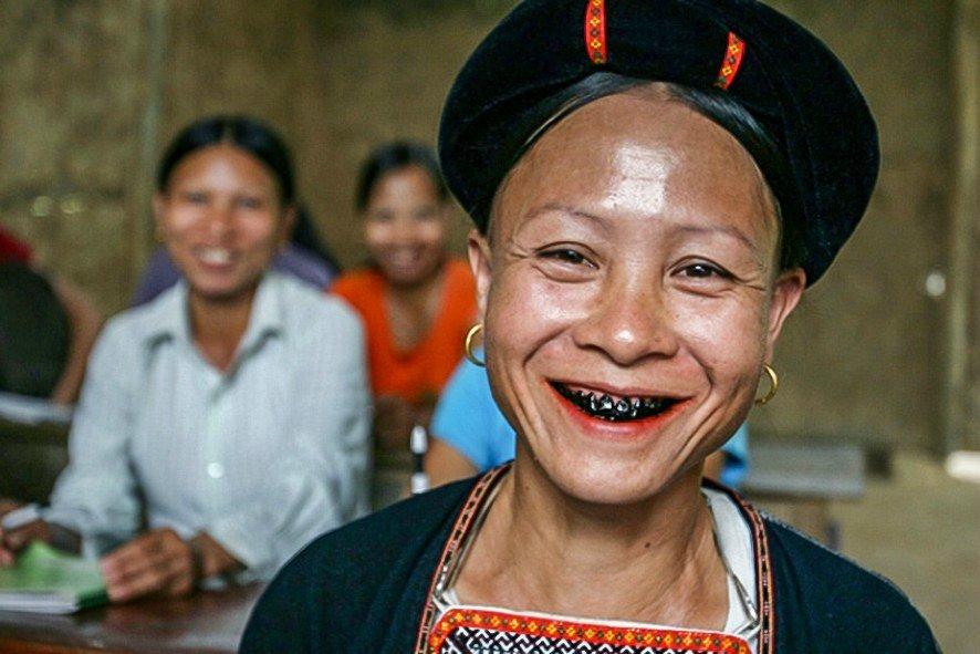 Женщина из Вьетнама