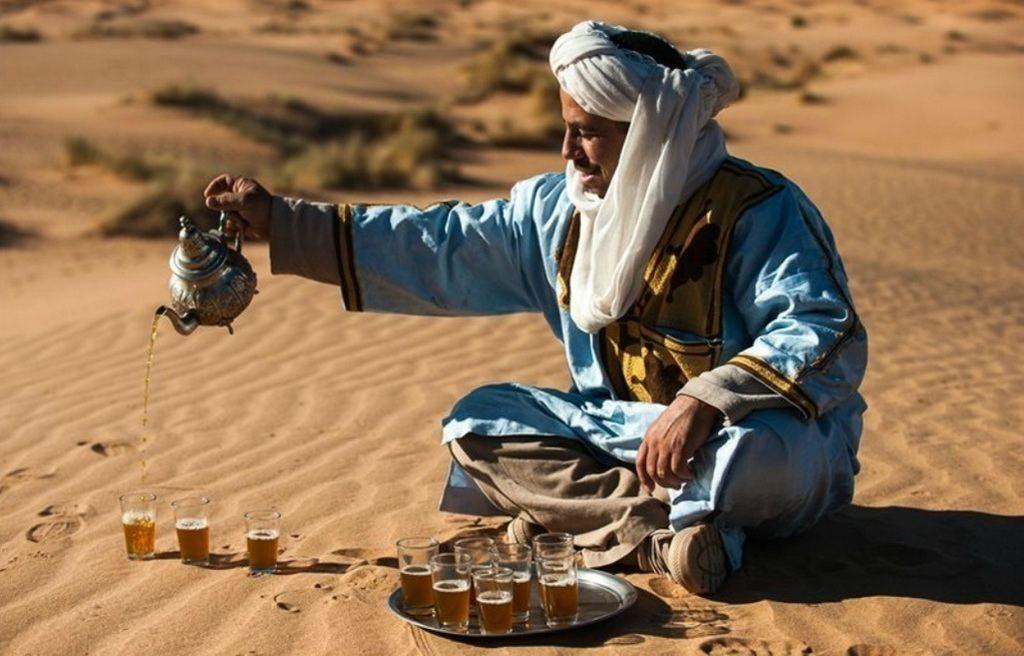 Чайная церемония у бедуинов