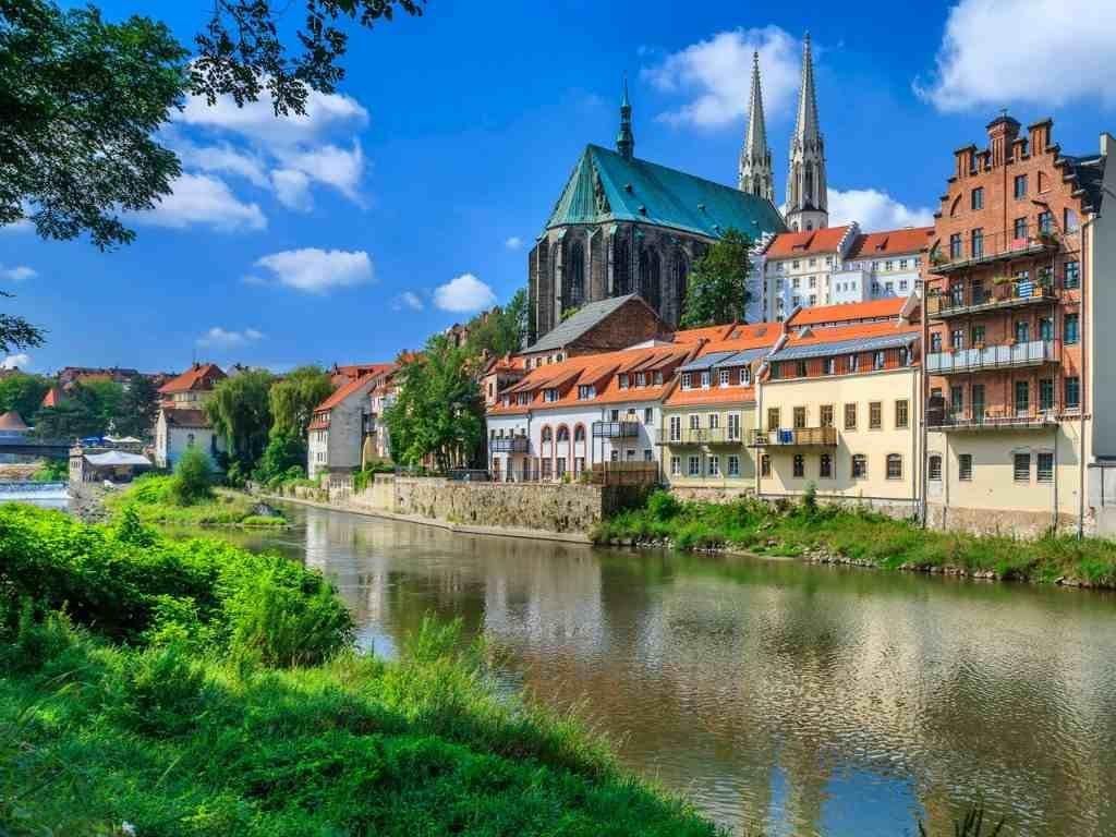 Город Гёрлиц в Германии