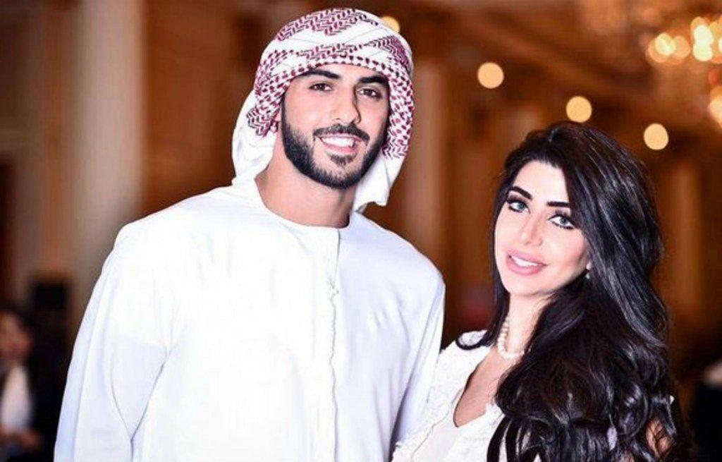 Омар Боркана Аль Гала с супругой