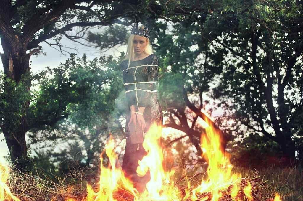 Сжигание ведьмы на костре
