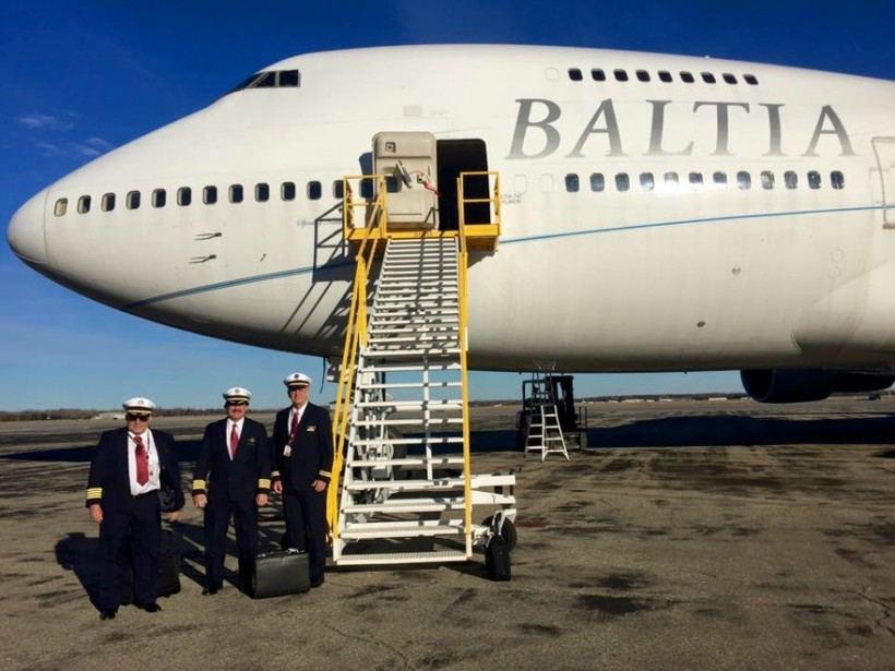 Авиамашина Balta Air Lines
