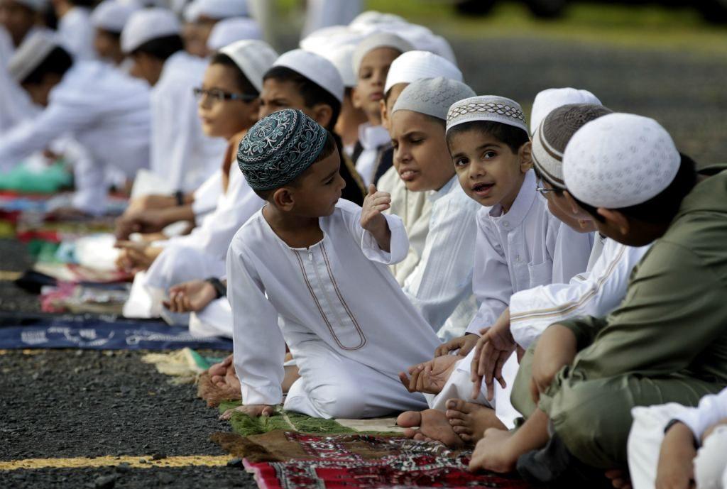 Дети-мсульмане
